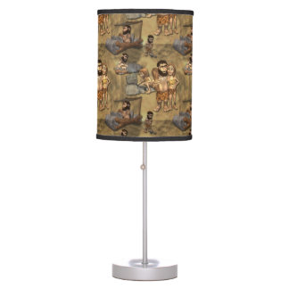 Caveman Table Lamp