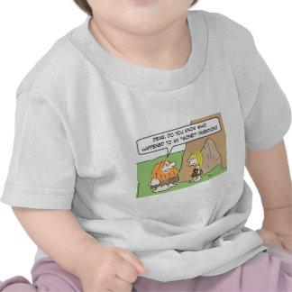caveman wife money invention tee shirt