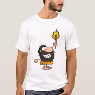 Caveman with Torch T-Shirt