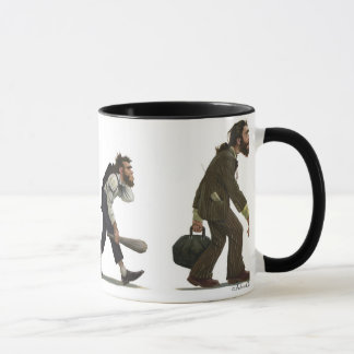 Cavemen Mug