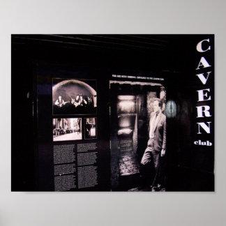 Cavern Club Original Entrance, Liverpool, UK. Poster