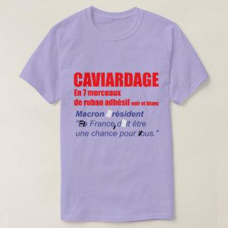 Caviardage en 7 morceaux Elections presidentielles T-Shirt