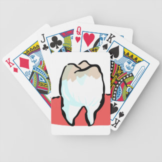 Cavity Bicycle Playing Cards