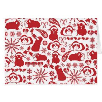 Cavy Christmas Card