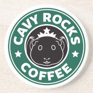 Cavy Rocks Coffee Coasters