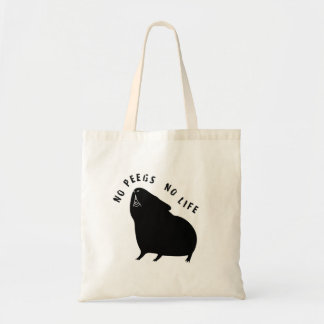 Cavyart No Peegs No Life Tote (Short Haired)