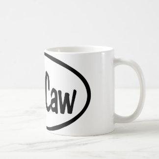 Caw Caw Classic White Coffee Mug