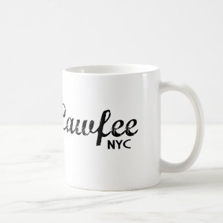 Cawfee New York funny coffee mug
