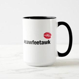 #cawfeetawk Mug (large)