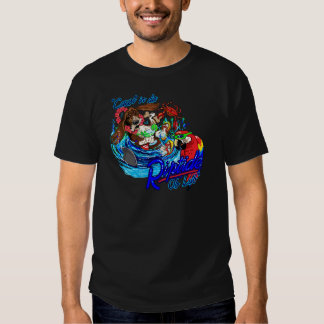 Cawt dans le raz de courant du DA T-shirts