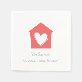 Cayenne Housewarming Party Paper Napkin Set