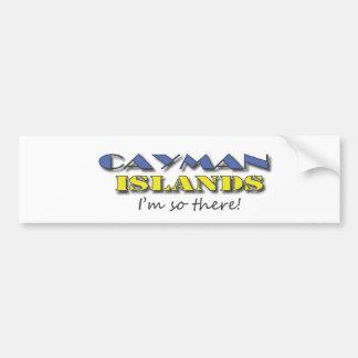 Cayman Island bumper sticker