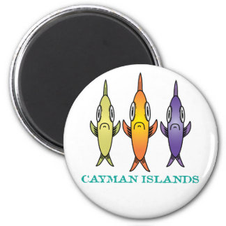 Cayman Islands 3-Fishes Magnet