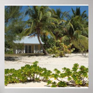 Cayman Islands Beach House Poster