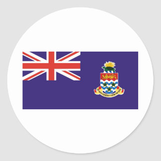 Cayman Islands Classic Round Sticker