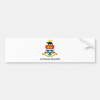 Cayman Islands Coat of Arms Bumper Sticker