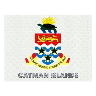 Cayman Islands Coat of Arms Postcard