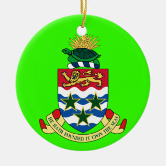 CAYMAN ISLANDS - Custom Christmas Ornament
