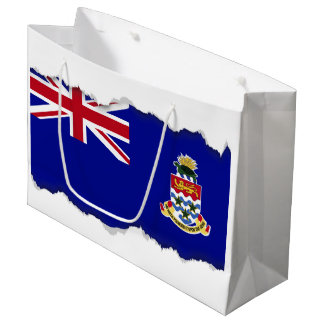 Cayman Islands Flag Large Gift Bag
