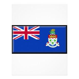 Cayman Islands Flag Letterhead