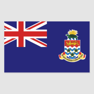 Cayman Islands: Flag of Cayman Islands sticker