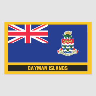 Cayman Islands Flag Sticker