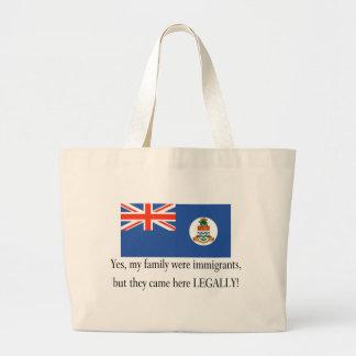 Cayman Islands Jumbo Tote Bag