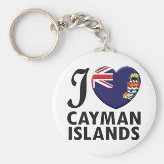 Cayman Islands Love Keychain