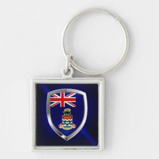 Cayman Islands Mettalic Emblem Keychain