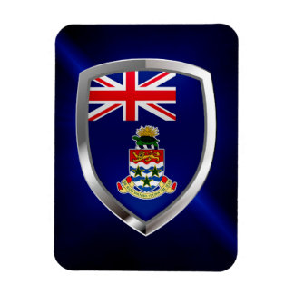 Cayman Islands Mettalic Emblem Magnet