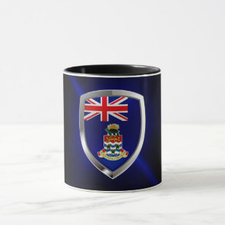 Cayman Islands Mettalic Emblem Mug