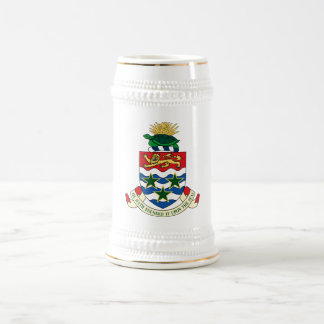 Cayman Islands Official Coat Of Arms Heraldry 18 Oz Beer Stein