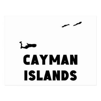 Cayman Islands Silhouette Postcard