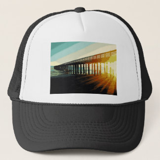 Cayucos Pier Trucker Hat