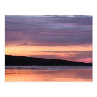 Cayuga Lake Sunset Postcard