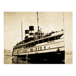Cayuga Passenger Steamer - Canada Steamship Lines Postcard