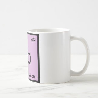 Cb - Canadian Bacon Ham Chemistry Symbol Coffee Mugs