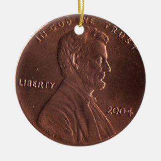CB- Lucky Penny Ornament