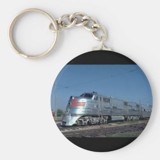 CB&Q EMD E-5A #9952, 1930's_Trains Basic Round Button Keychain