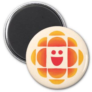 CBC Kids Logo 2 Inch Round Magnet