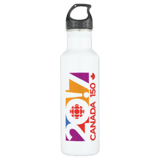 CBC/Radio-Canada 2017 Logo 710 Ml Water Bottle