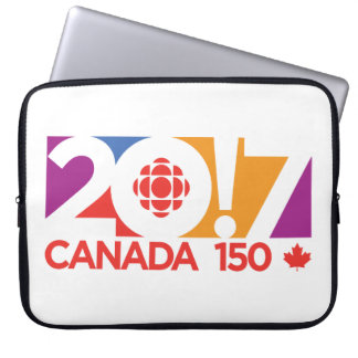 CBC/Radio-Canada 2017 Logo Laptop Sleeve