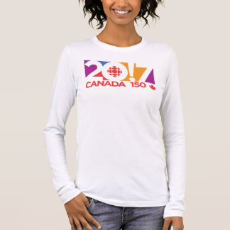 CBC/Radio-Canada 2017 Logo Long Sleeve T-Shirt