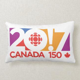 CBC/Radio-Canada 2017 Logo Lumbar Pillow