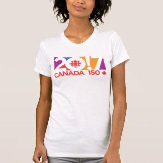 CBC/Radio-Canada 2017 Logo T-Shirt