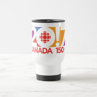 CBC/Radio-Canada 2017 Logo Travel Mug