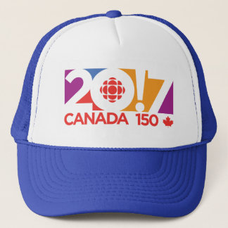 CBC/Radio-Canada 2017 Logo Trucker Hat