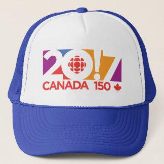 CBC/Radio-Canada 2017 Logo Trucker Hat