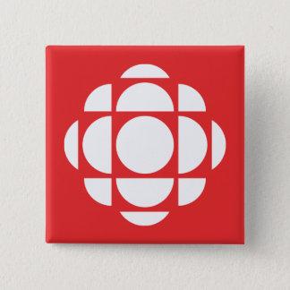 CBC/Radio-Canada Gem 2 Inch Square Button
