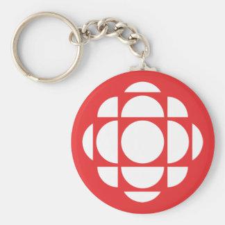 CBC/Radio-Canada Gem Basic Round Button Keychain
